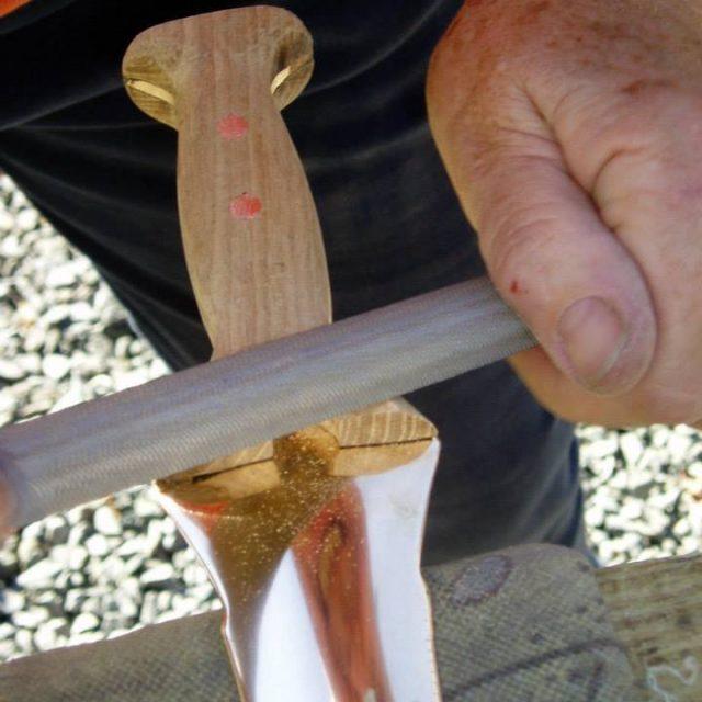 Sword forging class