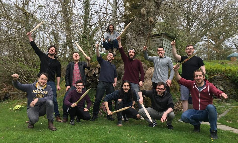 Group Photo - Make a Sword UK