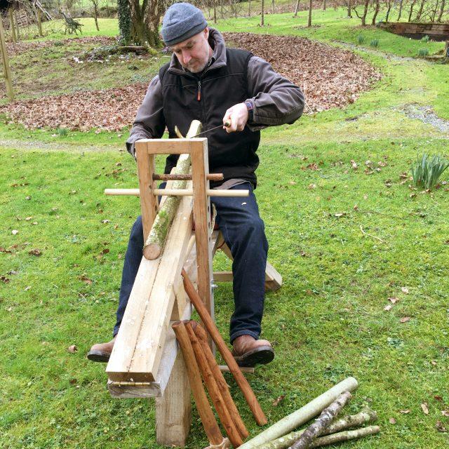 Making an axe haft